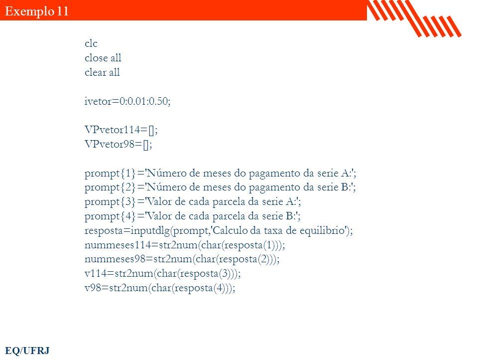 Exemplo 11 clc close all clear all ivetor=0:0.01:0.50; VPvetor114=[];